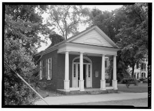Ancienne Cour d'équité, 1940, Cheraw Caroline du Sud, Library of Congress
