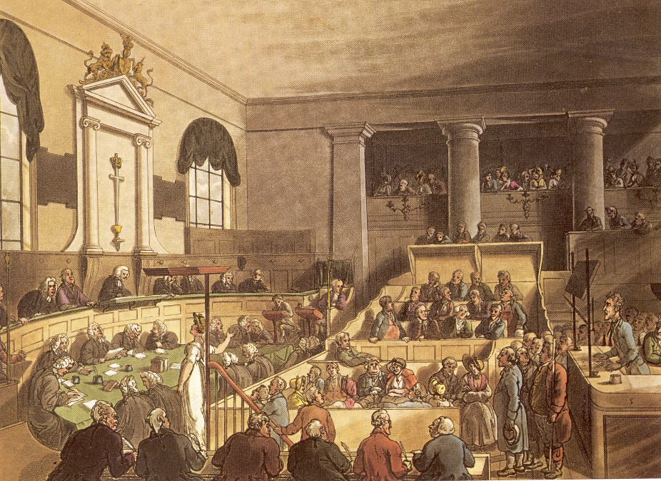 Famous Courtroom Paintings
