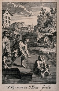 The_cold-water_ordeal;_a_man_is_tortured_by_being_tied_with_Wellcome_V0041684